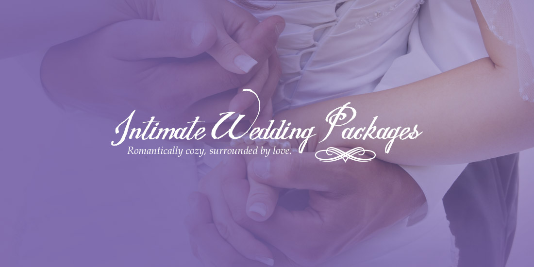 Intimate Wedding Packages At Silver Sycamore