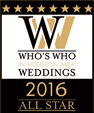 Who's Who in Houston Area Weddings 2016 All Star