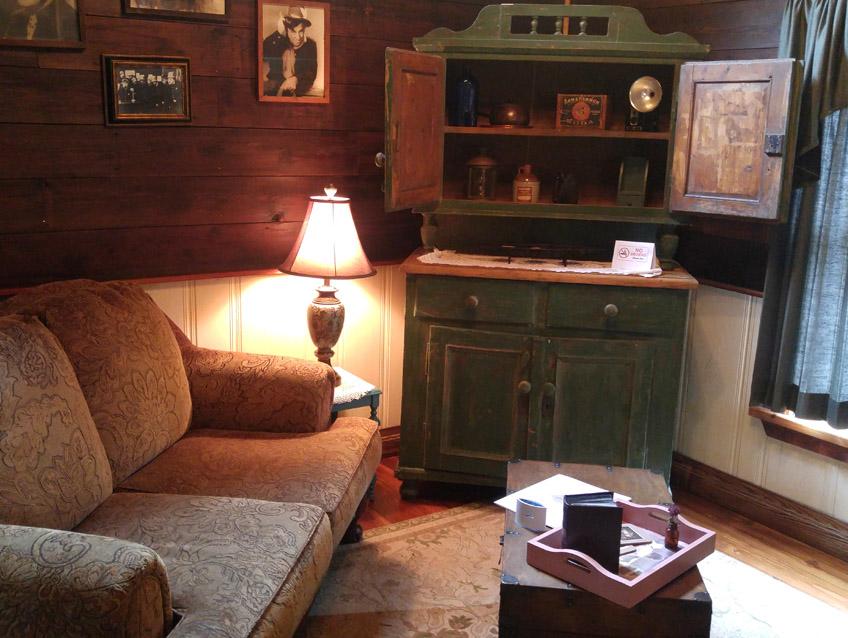 Prairie Willow Sitting Area