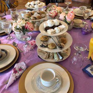 high tea bridal shower in pasadena tx
