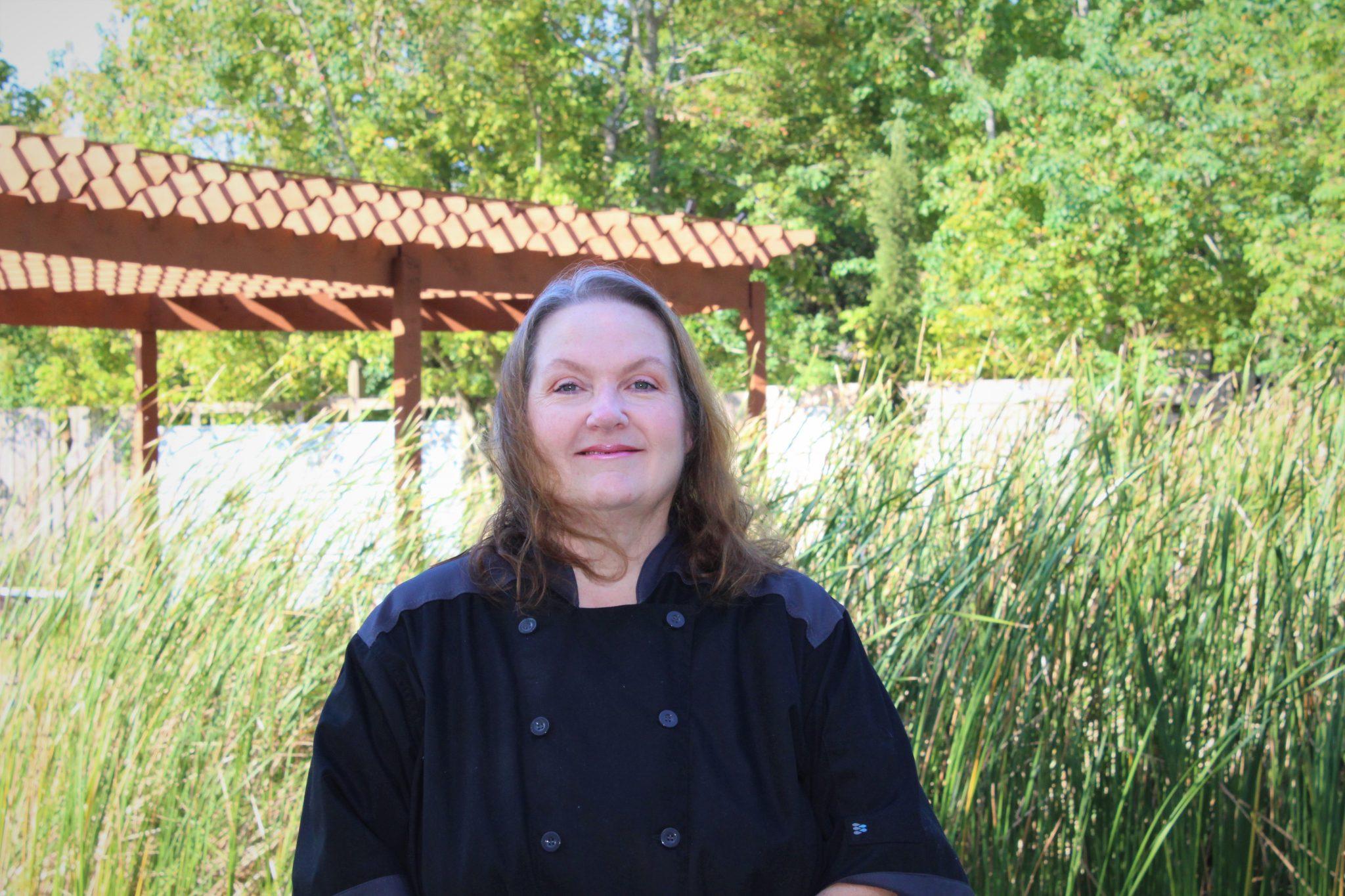 Darlene, head chef at Silver Sycamore