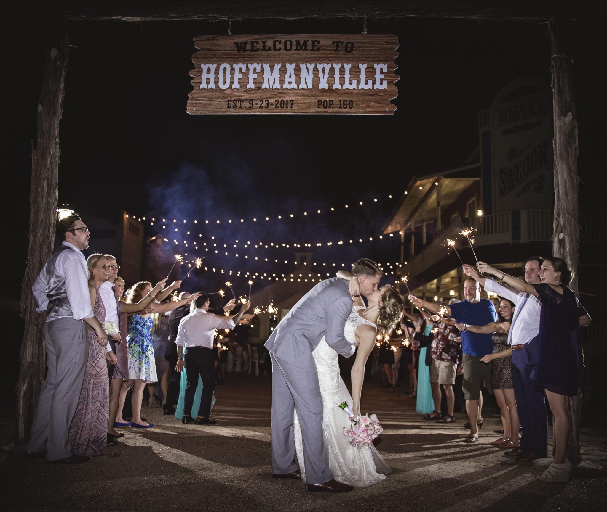rustic outdoor wedding in houston