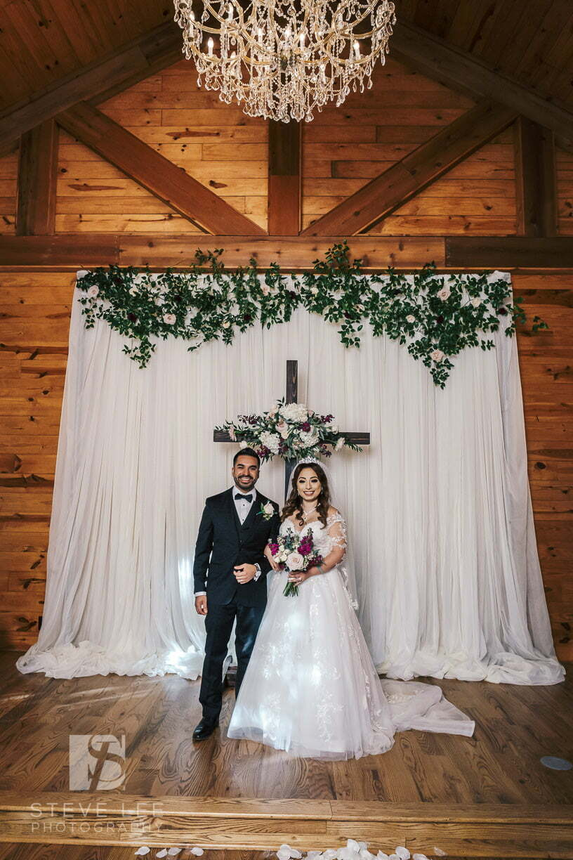 couple at a ceremony only wedding venue