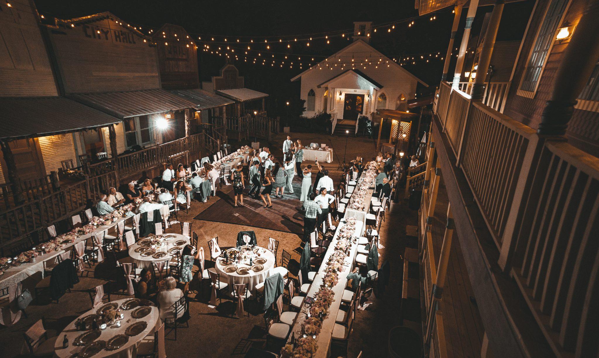 rustic outdoor wedding venue in houston