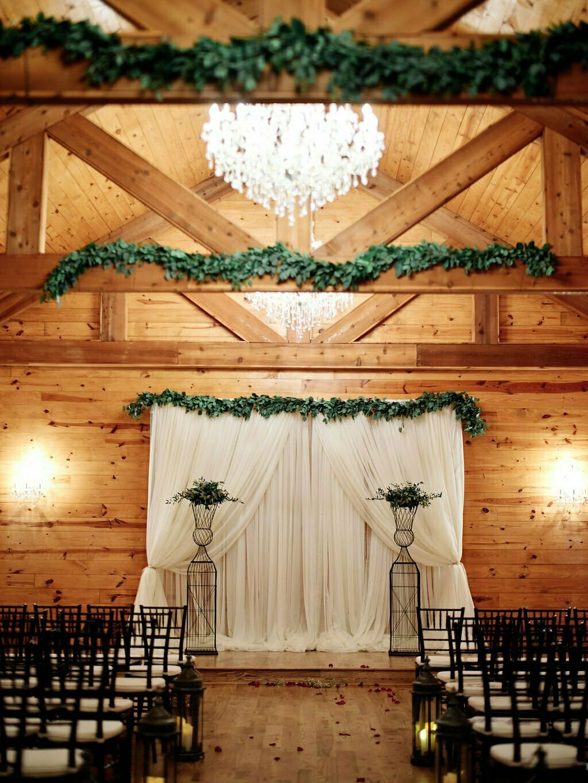 chapel wedding decor houston