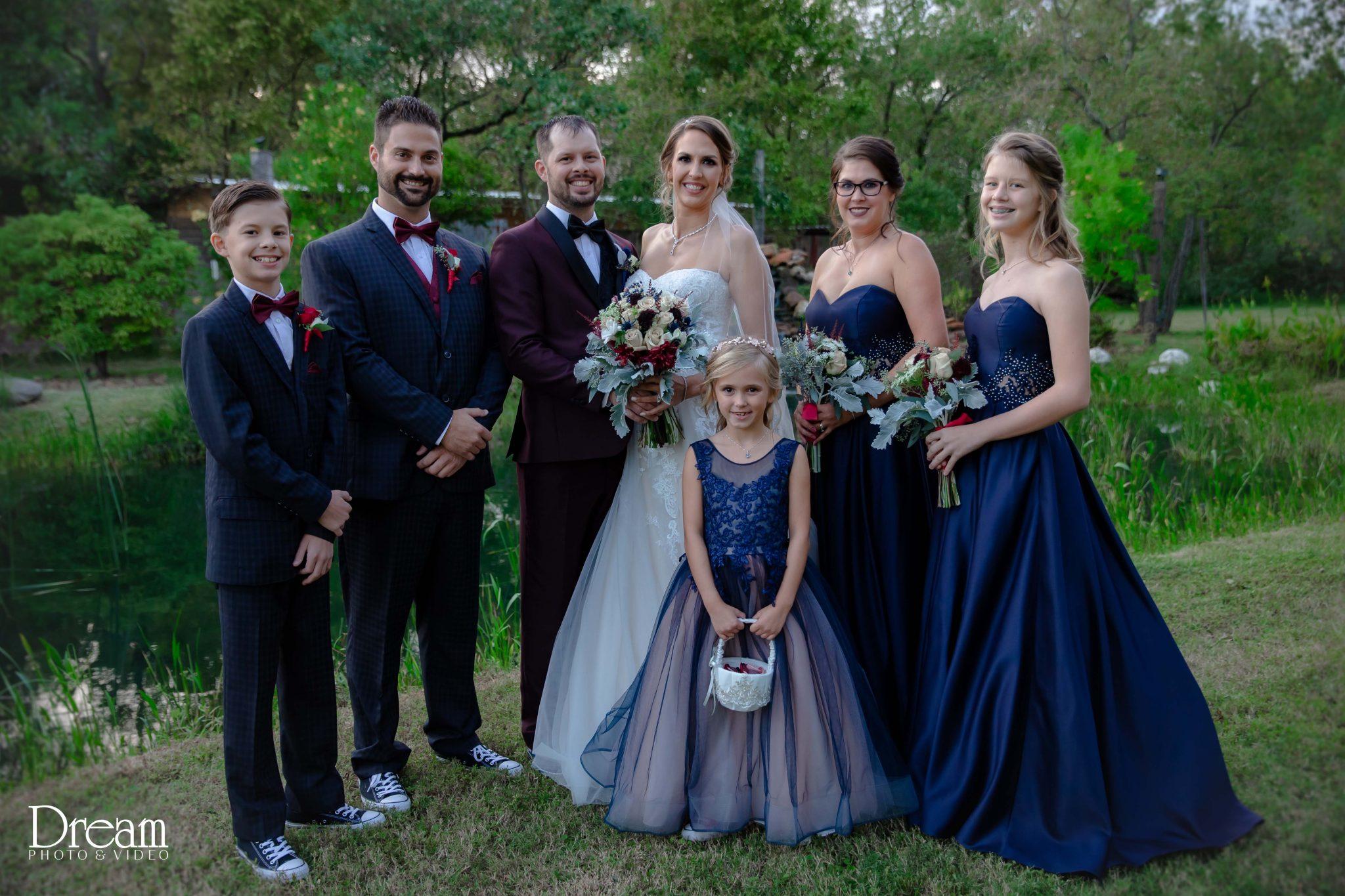 bridal party portratis