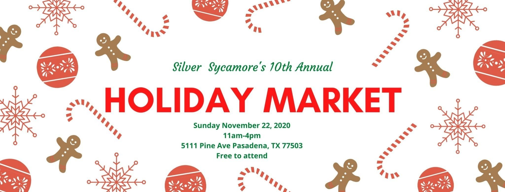 holiday market shopping in houston texas